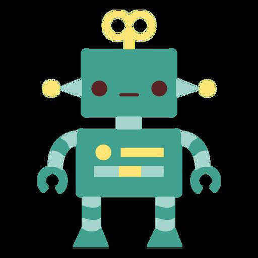 Robot toy flat
