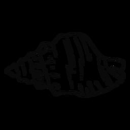 Golpe de concha marina