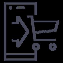 Ícone do aplicativo de compras