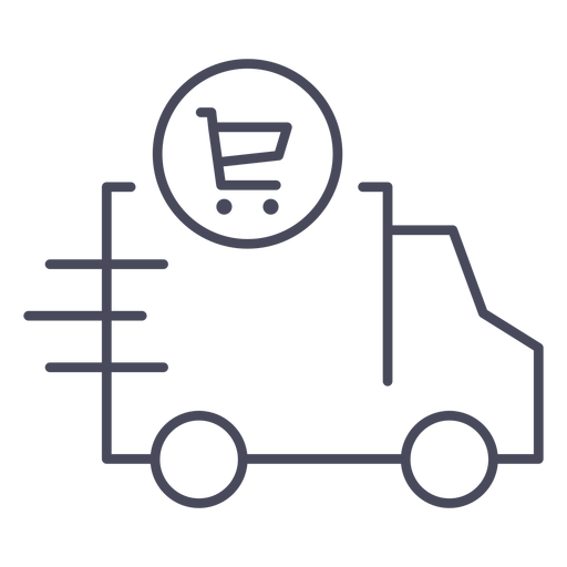 Shopping delivery icon