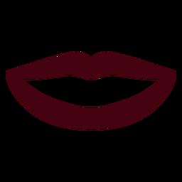Smile silhouette