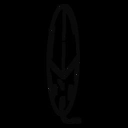 Surfboard stroke