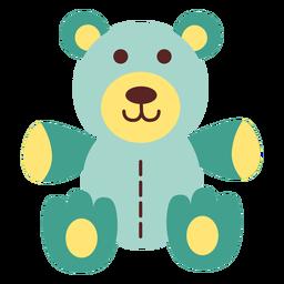 Urso de pelúcia plana