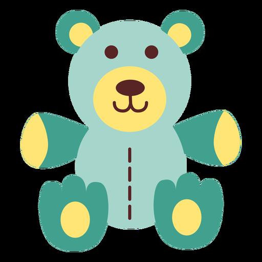 Teddy bear flat Transparent PNG