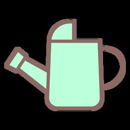 Icono de regadera plana