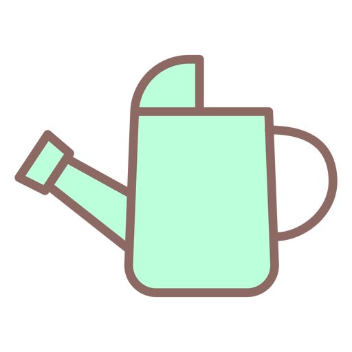 Watering can icon flat Transparent PNG