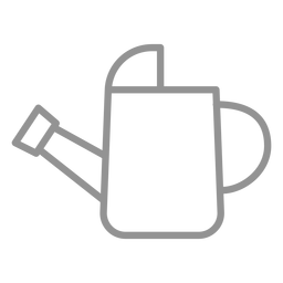Watering can icon stroke