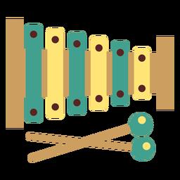 Xilófono plano
