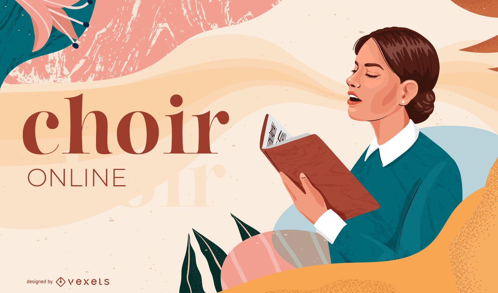 Chor Online Cover Design