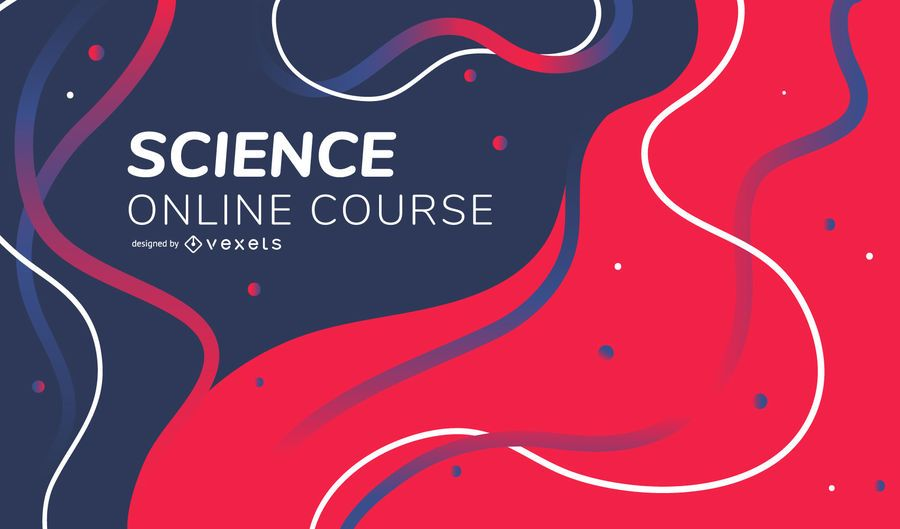 Science online course abstract cover