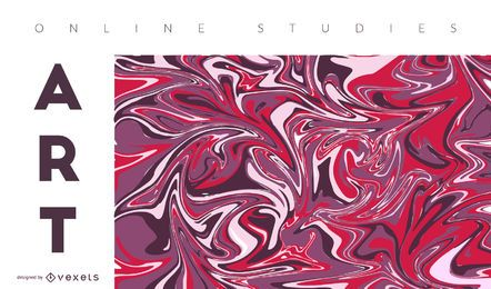 Kunst online abstrakte Abdeckung