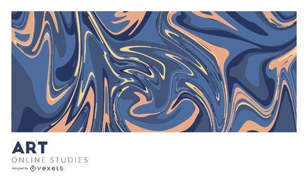 Kunst Online-Studien abstrakte Abdeckung