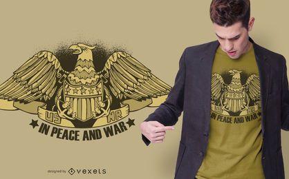 Diseño de camiseta con logo de recursos naturales de EE. UU.