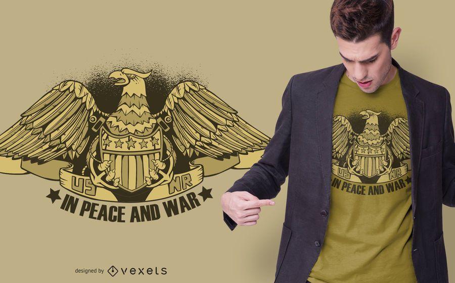 Diseño de camiseta con el logotipo de US Natural Resources