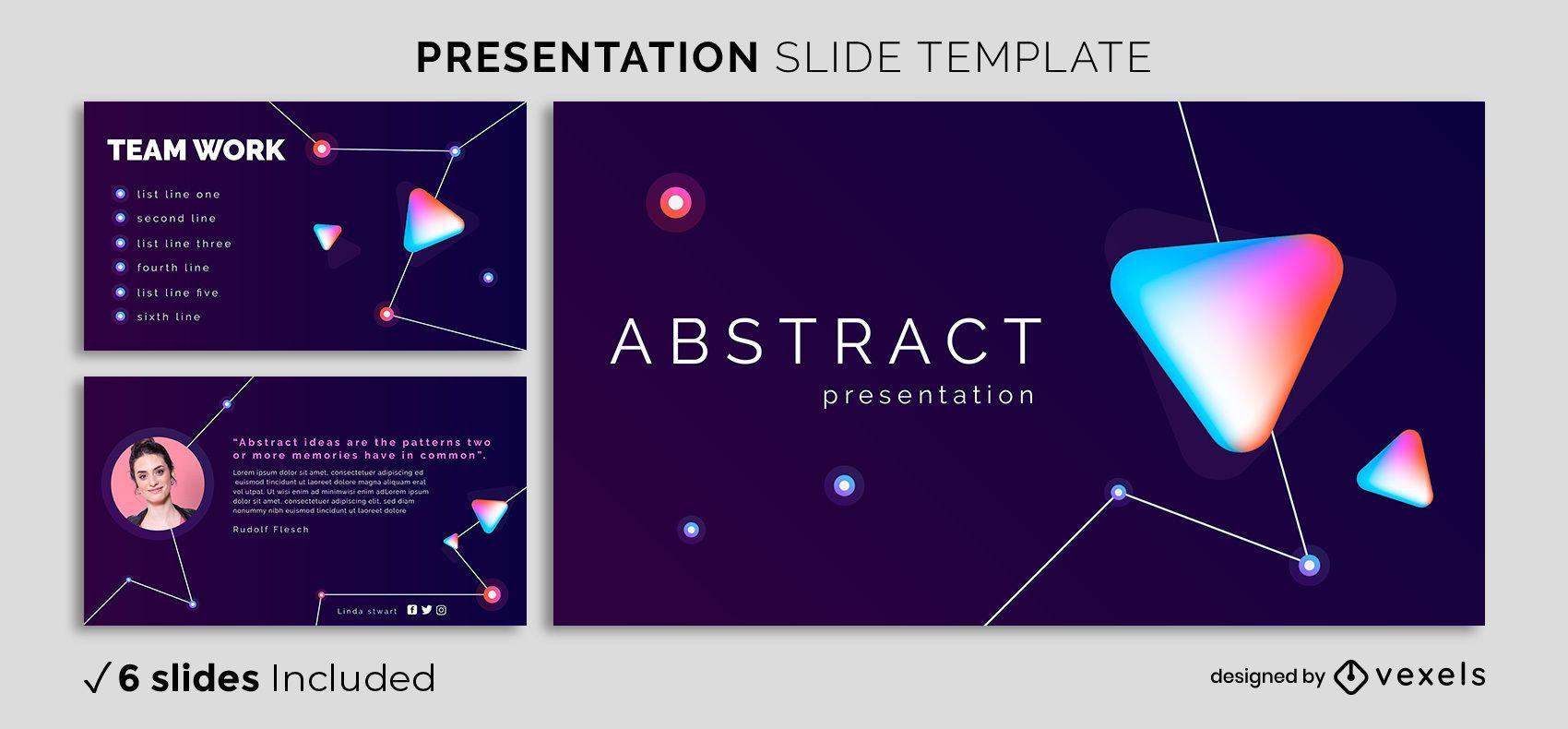 Modelo de apresentação abstrata