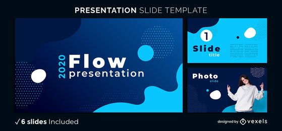 Abstract Shapes Presentation Template