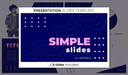Simple Bold Presentation Template