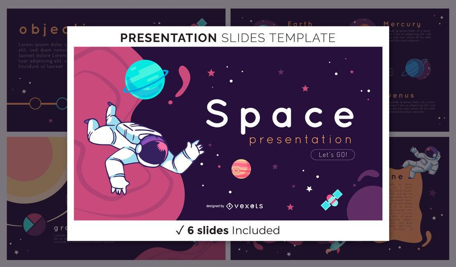 Space Presentation Template