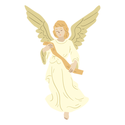 Angel nativity character