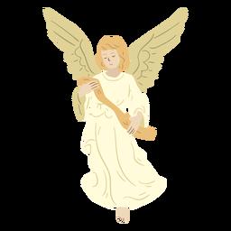 Personagem de natividade de anjo
