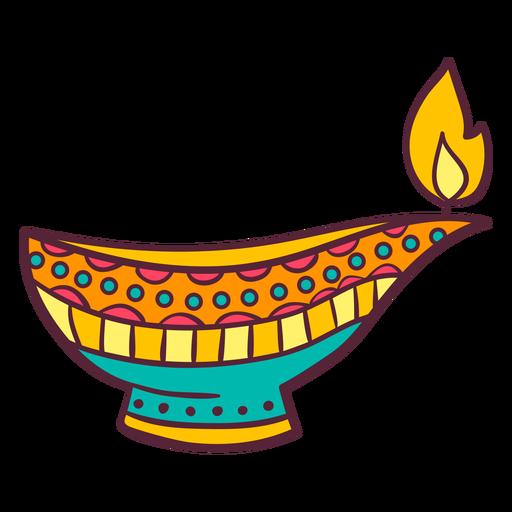 Lámpara de aceite árabe