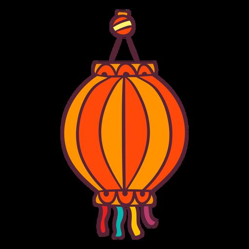 Asian lantern element