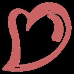 Brush heart element