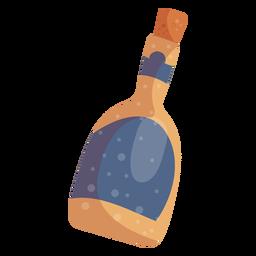 Elemento de botella de champagne