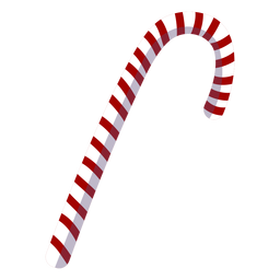 Christmas candy cane element
