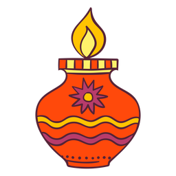 Decoración ligera de Diwali