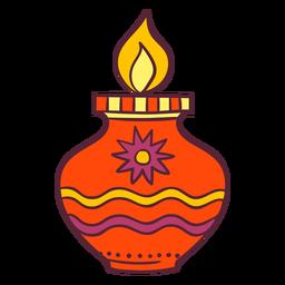 Diwali leichte Dekoration