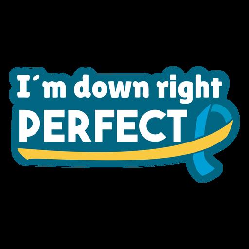 Insignia de apoyo perfecto a la derecha