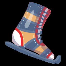 Ice skate element
