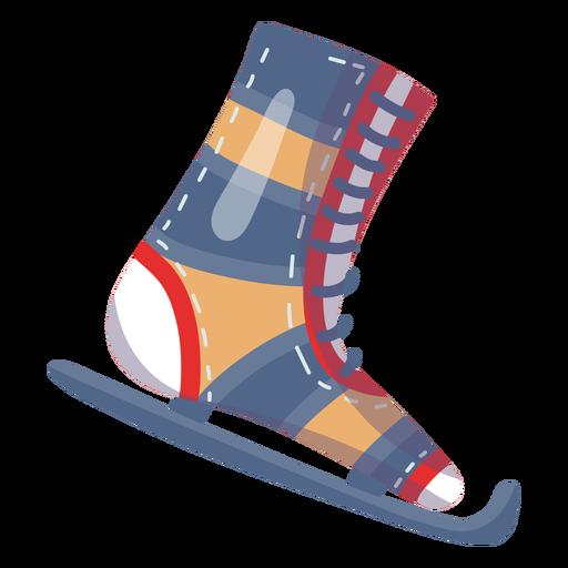 Ice skate element Transparent PNG
