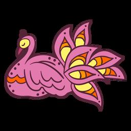 Indian peafowl element