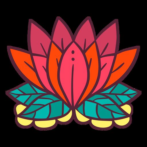 Elemento de flor de loto
