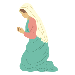 Mary nativity character