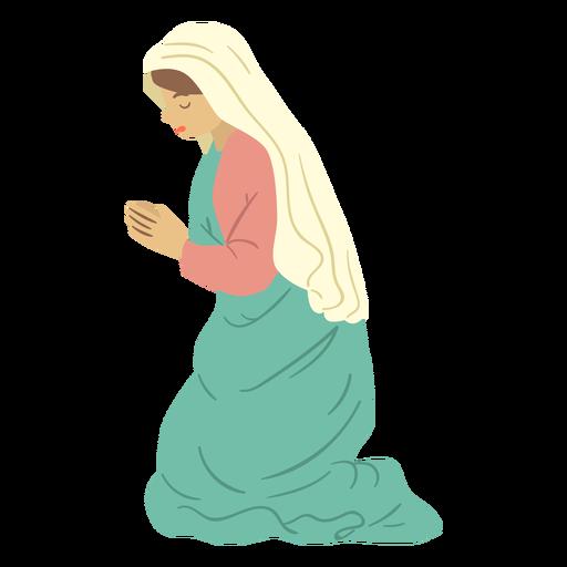 Mary nativity character