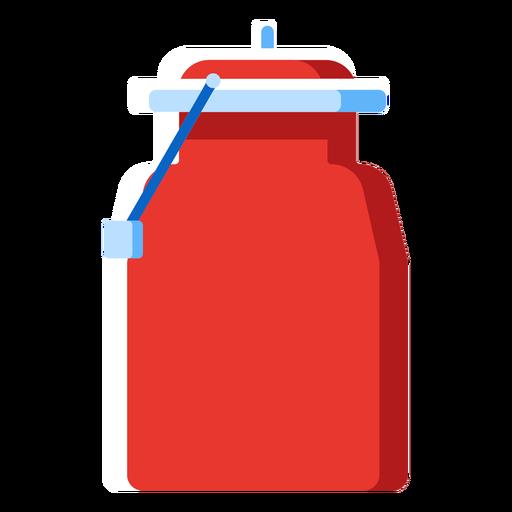 Metal milk jug icon Transparent PNG