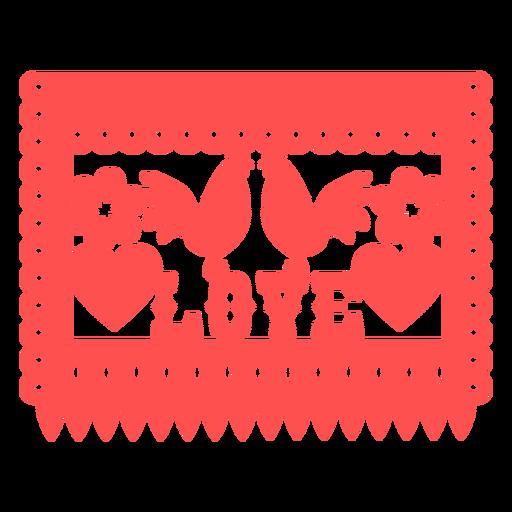 Banner de amor mexicano