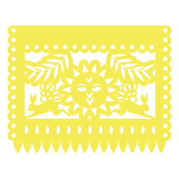 Mexican sun banner