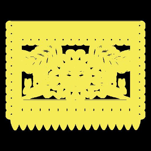 Bandera del sol mexicano