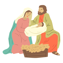 Krippe heilige Familie