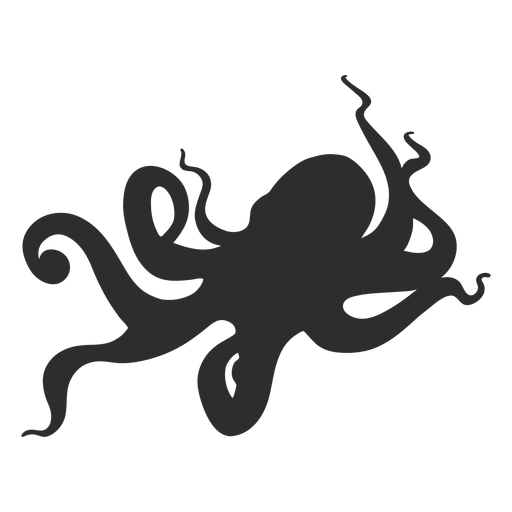 Octopus animal silhouette Transparent PNG