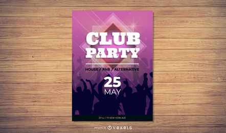 Club Flyer Vectors