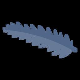 Elemento de rama de árbol de pino