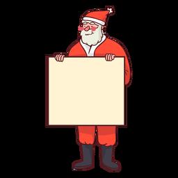 Sinal de exploração de Papai Noel