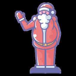 Papai Noel acenando