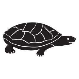 Simple turtle silhouette