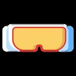 Icono de gafas de esquí